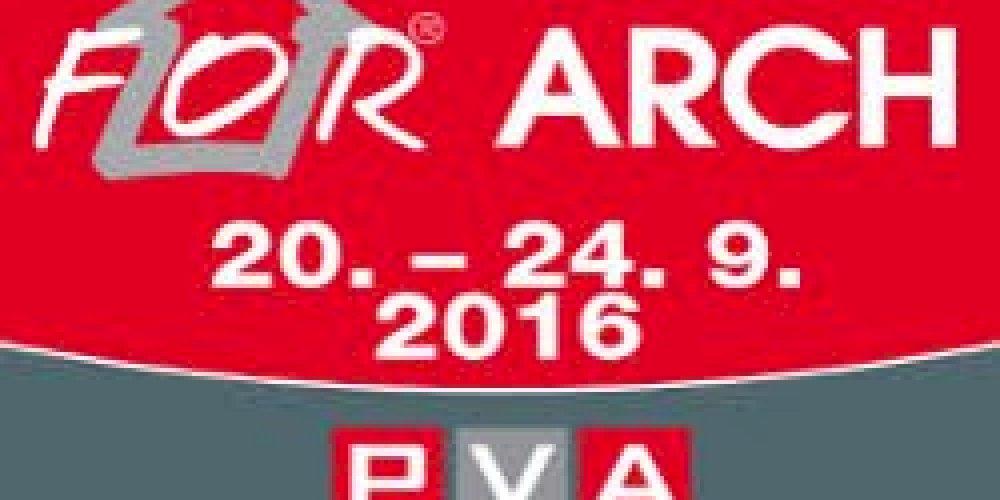 Pozvánka na veletrh FOR ARCH