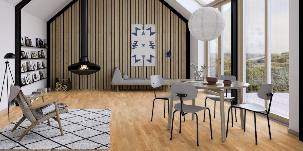 Jakou vybrat barvu podlahy do každého pokoje