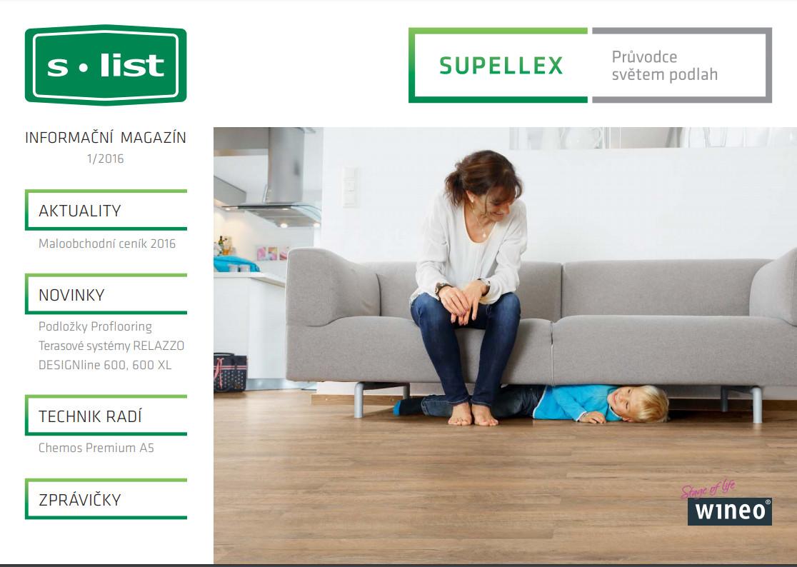 Supellex magazín č.1/2016