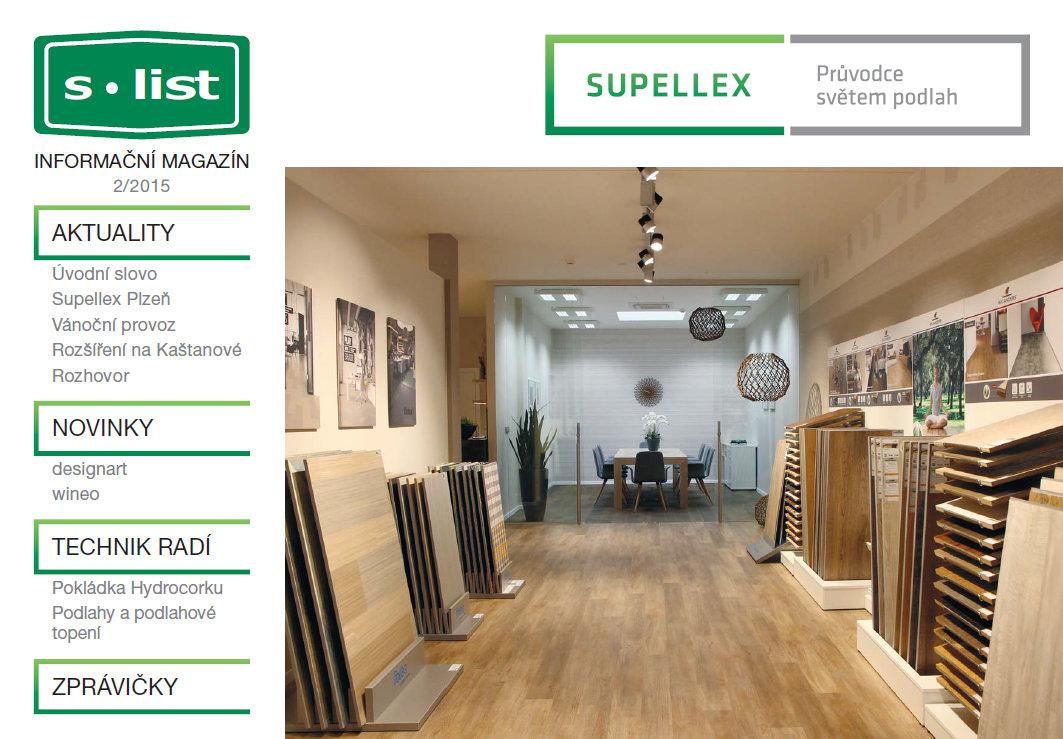 Supellex magazín č.2/2015