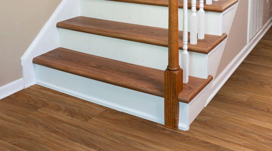 Použití laminátu na schodech