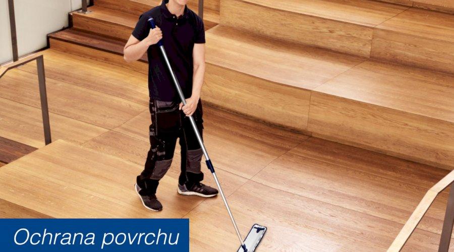 Jedině správným čištěním lze udržet podlahu jako novou
