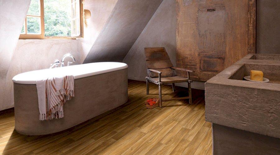 HydroCork - podlaha i do koupelny