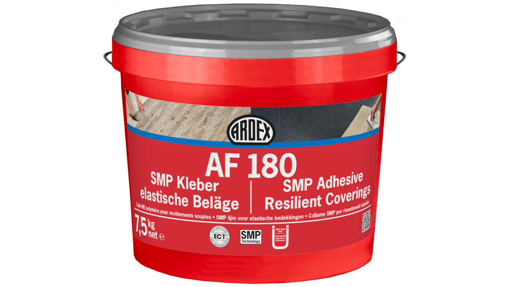 SMP lepidlo na PVC a elastické podlahoviny ARDEX AF 180 7,5 kg 0