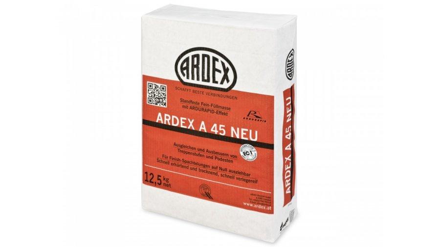 Jemná opravná rychlá hmota Ardex A 45 NEU 12,5 kg 0