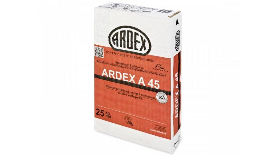 Rychlá opravná hmota Ardex A 45 na cementové bázi 25 kg 0