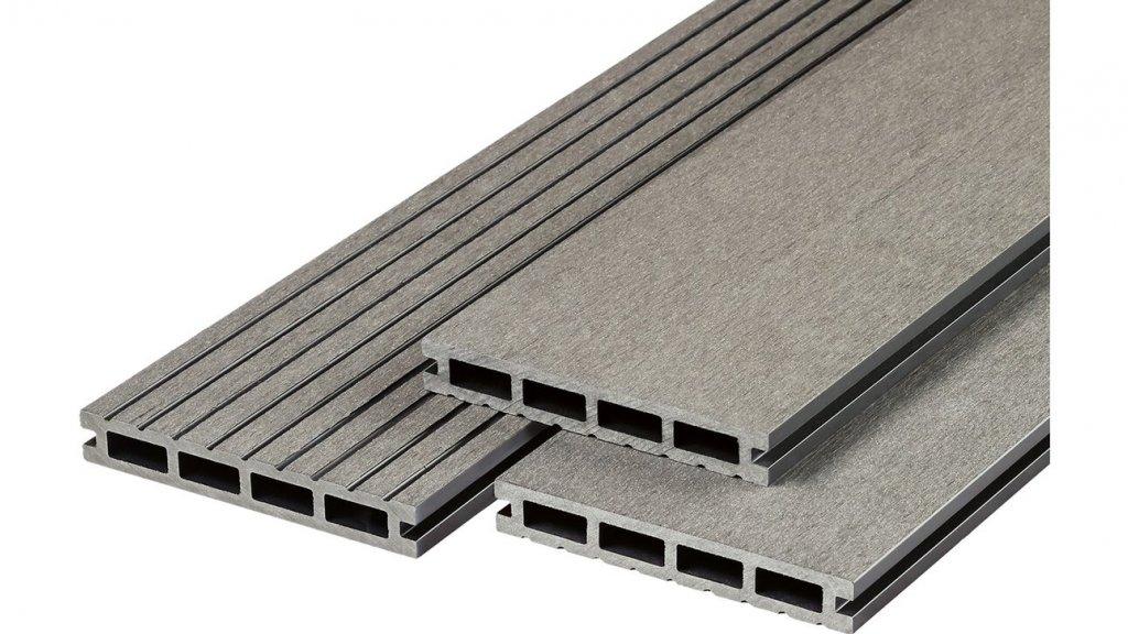 Kompozitní deska R-Decking 73324 šedý granit 23x140x4000mm 0