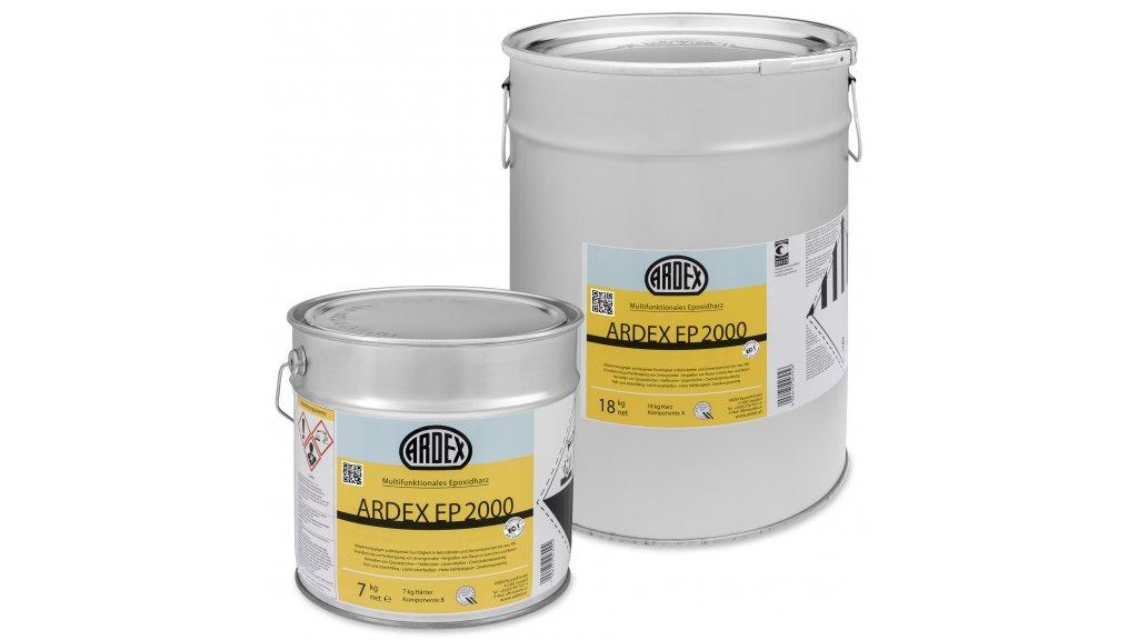 Ardex EP 2000 / 4,5 kg - multifunkční epoxidová pryskyřice A+B 0