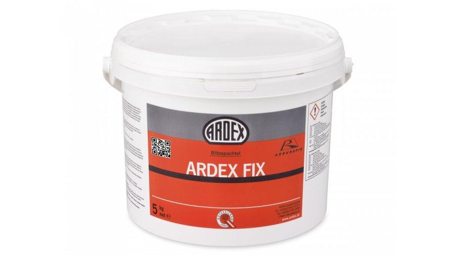 Velmi jemná, rychlá opravná hmota Ardex FIX 5 kg 0