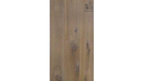 Masivní dřevěná podlaha Esco Chateau Original Kouřová bílá 0