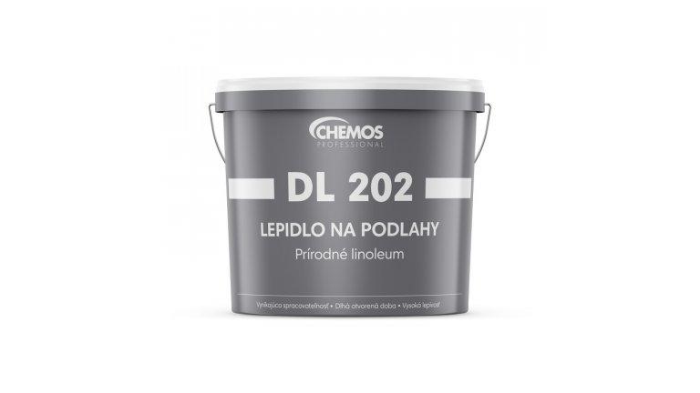 Speciální disperzní lepidlo na přírodní linoleum Chemos DL 202 / 6 kg 0