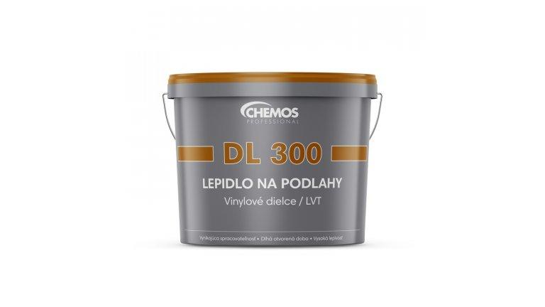 Disperzní lepidlo pro lepení vinylových dílců Chemos DL 300 / 12 kg 0