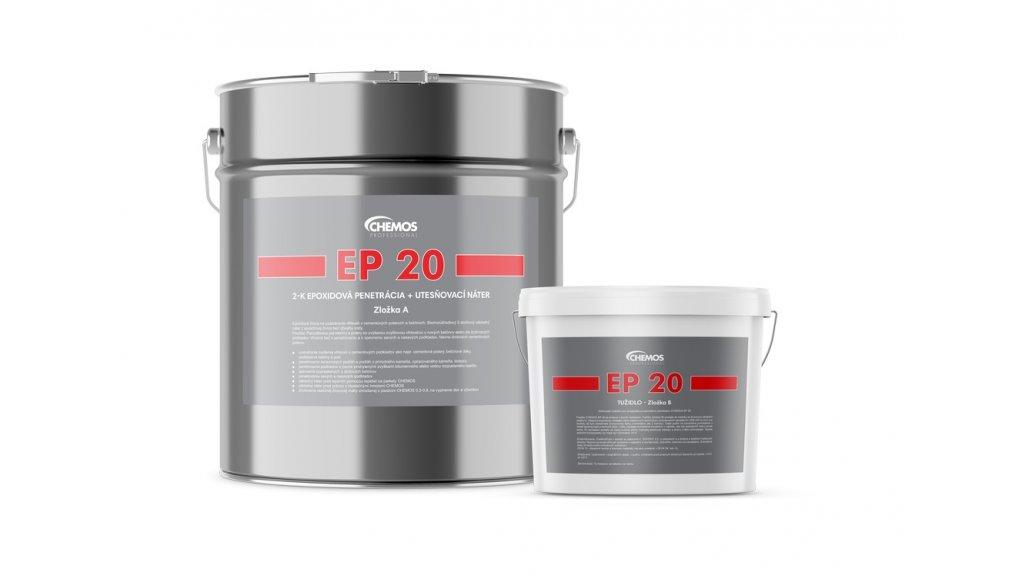 Epoxidová penetrace + vlhkostní uzávěra Chemos EP 20 / 14 kg - 2k 0