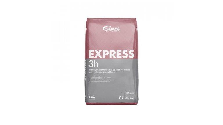 Samonivelační stěrka Chemos Express 3h / 25 kg 0