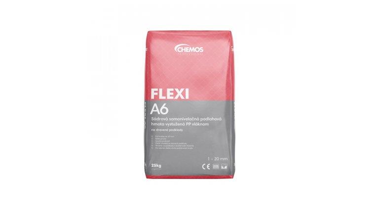 Samonivelační stěrka Chemos Flexi A6 s vlákny / 25 kg 0
