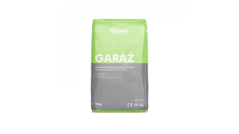 Samonivelační stěrka Chemos Garáž / 25 kg 0