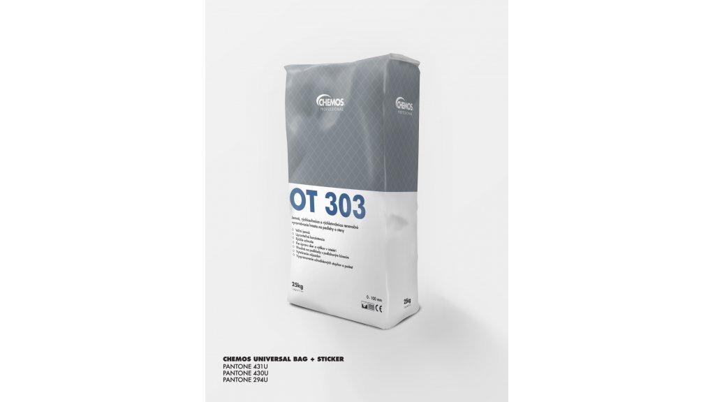 Opravný tmel Chemos OT 303 / 25 kg 0