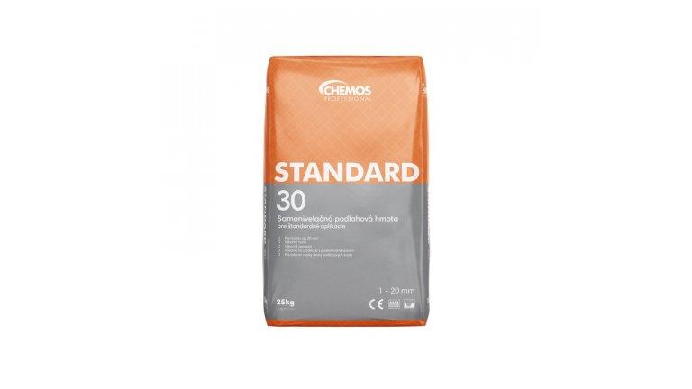 Samonivelační cementová stěrka Chemos Standard 30 / 25 kg 0