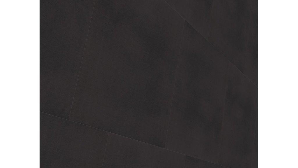 Vinylová podlaha lepená Wineo 800 Tile L Solid Black 0