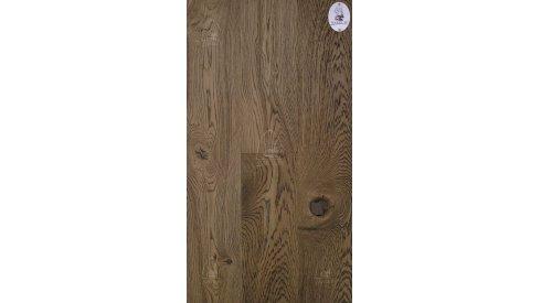 Třívrstvá dřevěná podlaha Esco Karel IV 15/4x190-Hořčičná šedá 3014 0
