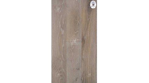 Třívrstvá dřevěná podlaha Esco Karel IV 15/4x190-Kouřová bílá 3111 0