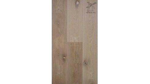 Třívrstvá dřevěná podlaha Esco Kolonial Original Přírodní bílá 0