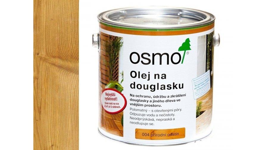 Speciální olej na dřevo - Olej na douglasle přírodně zbarvený 2,5l 0