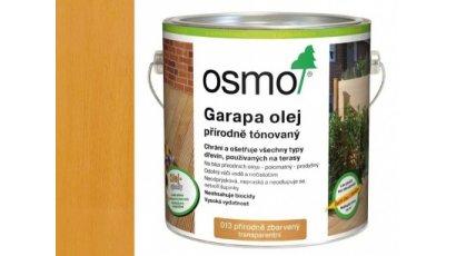 Speciální olej na dřevo - Olej na garapu přírodně zbarvený 25l 0