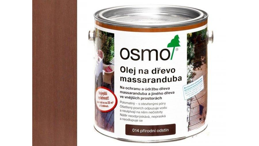 Speciální olej na dřevo - Olej na massaranduba přírodně zbarvený 0,75l 0