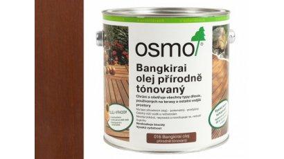 Speciální olej na dřevo - Olej na bankirai tmavý přírodně zbarvený 0,75l 0