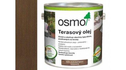 Speciální olej na dřevo - terasový olej dub bahenní 0,75l 0