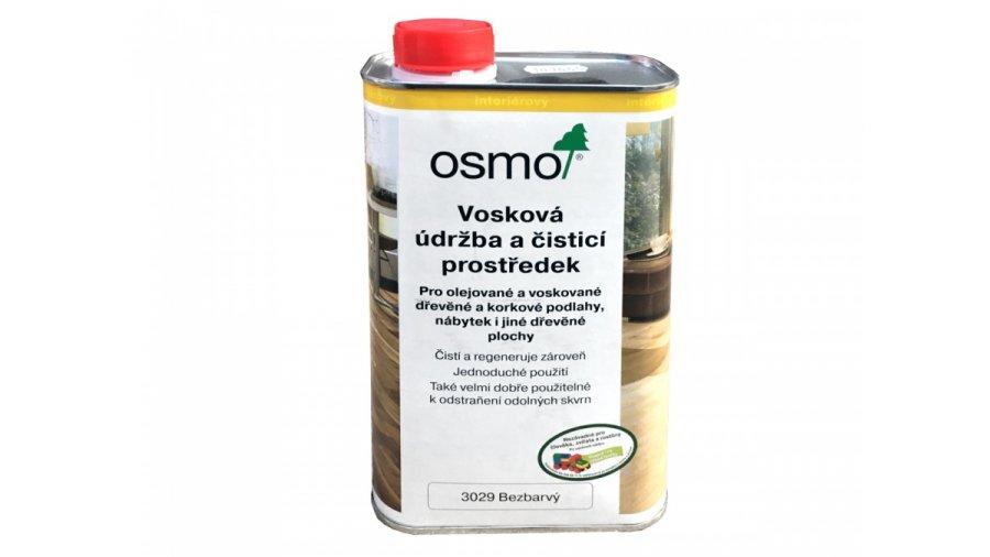 Údržbové prostředky vosková údržba a čistící prostředek - bezbarvá 0,5l 0