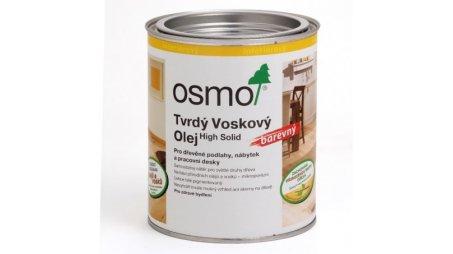 Tvrdý voskový olej Osmo barevný Transparentně bílý 2,50 l 0