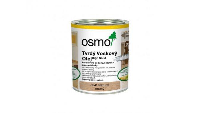 Tvrdý voskový olej Osmo Effekt Natural 10l 0