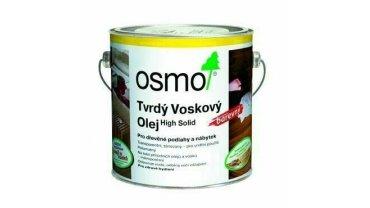 Tvrdý voskový olej Osmo barevný světle šedá 2,5 l 0