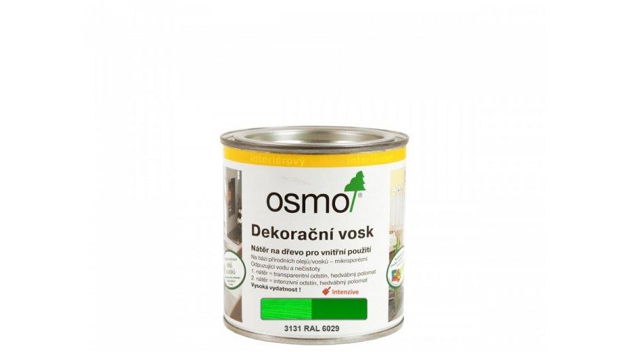 Dekorační vosk intenzivní odstíny zelená cca. RAL 6029 0,125l 0