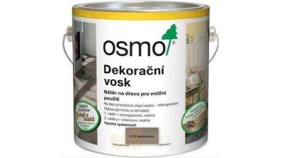 Dekorační vosk intenzivní odstíny šedobéžové RAL 1019 0,75l 0