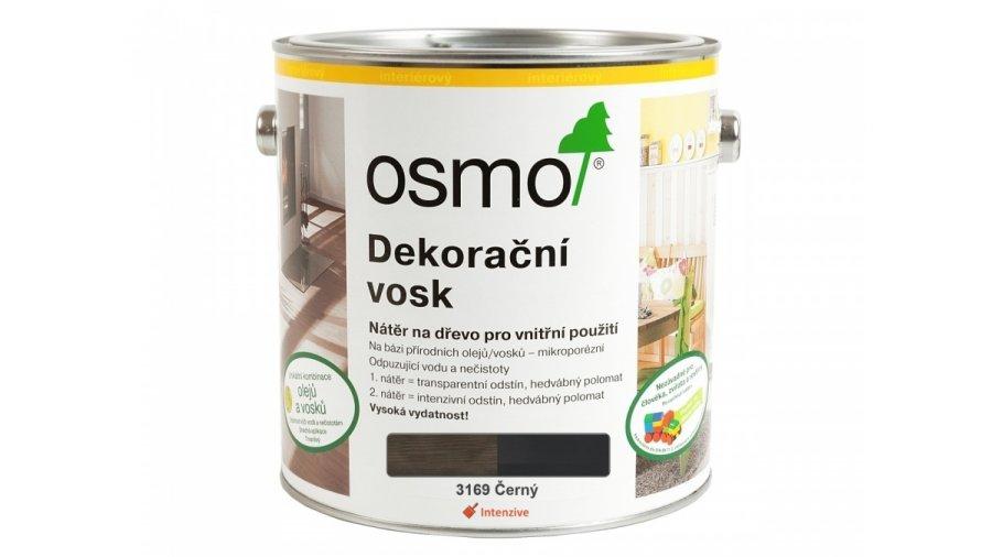 Dekorační vosk intenzivní odstíny černá 0,125l 0