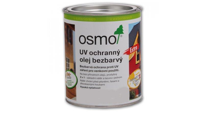UV - ochranný olej natural barevný EXTRA, s účinnými látkami pro exteriér 25l 0