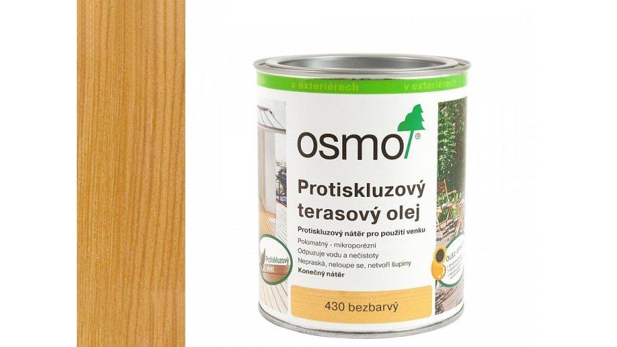 Protiskluzový terasový olej bezbarvý 0,75l 0