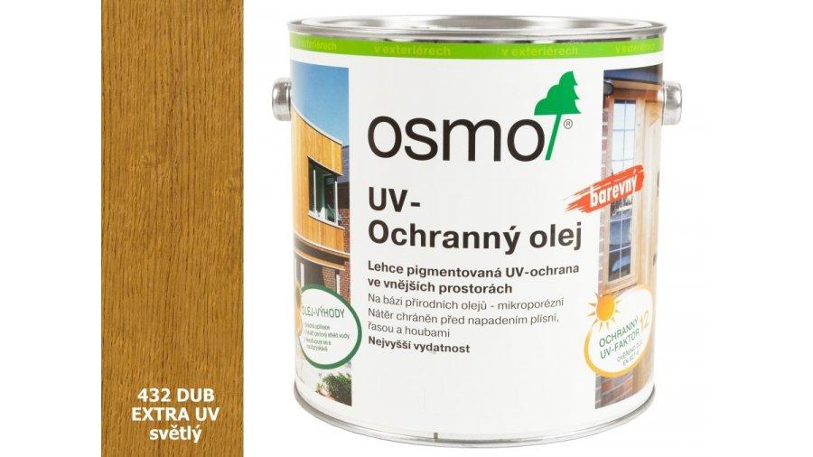 UV - ochranný olej dub světlý barevný EXTRA, s účinnými látkami pro exteriér 2,5l 0